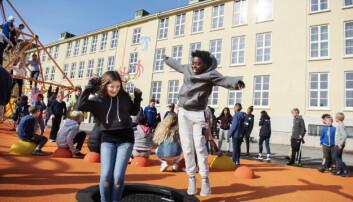 Skolegårder får nytt liv i Stavanger. Utdanning besøkte tre av dem.
