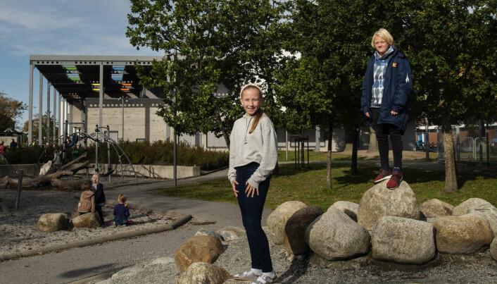 Gode skolegårder: Nei til mobbesoner, ja til natur