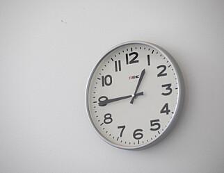 Tid for arbeidstidsreduksjon