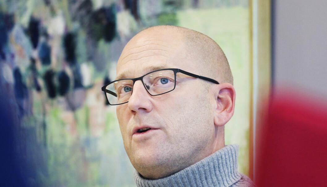 Steffen Handal, leder i Utdanningsforbundet. Foto: Jørgen Jelstad