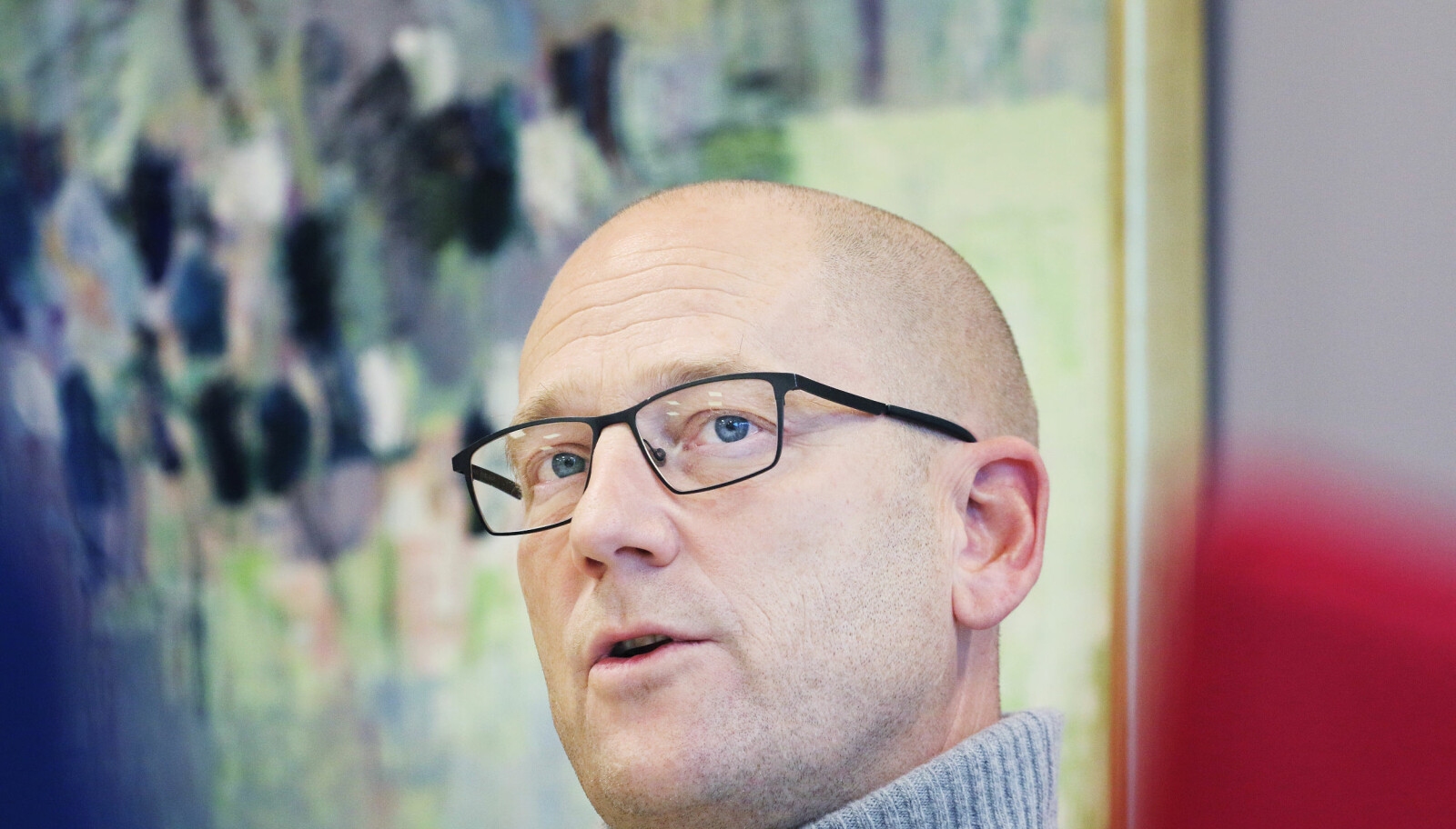 Vi er helt prisgitt at organisasjonsdemokratiet fungerer godt, sier Utdanningsforbundets leder Steffen Handal. Foto. Jørgen Jelstad