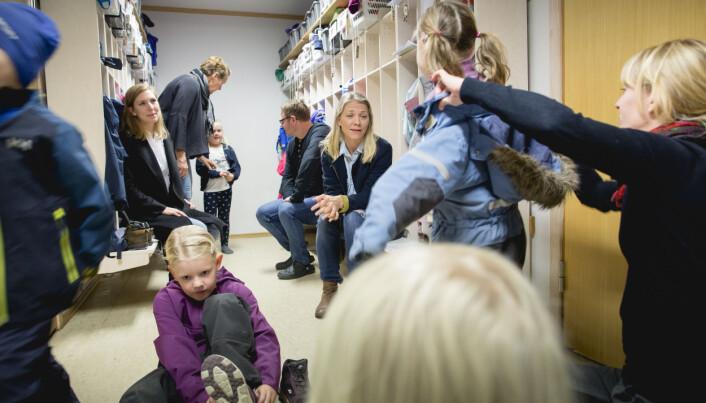 Smedhusåsen barnehage er en foreldreeid barnehage. Foto: Tom-Egil Jensen.