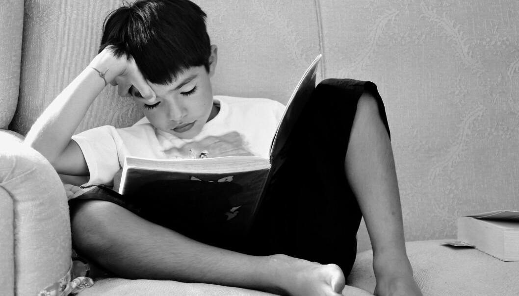 De som leser mye «for moro skyld», har et betydelig høyere resultat enn dem som nesten aldri gjør det, viser leserundersøkelse. Foto: Pixabay
