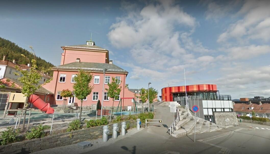 Ny-Krohnborg skole i Bergen. Foto: Google.