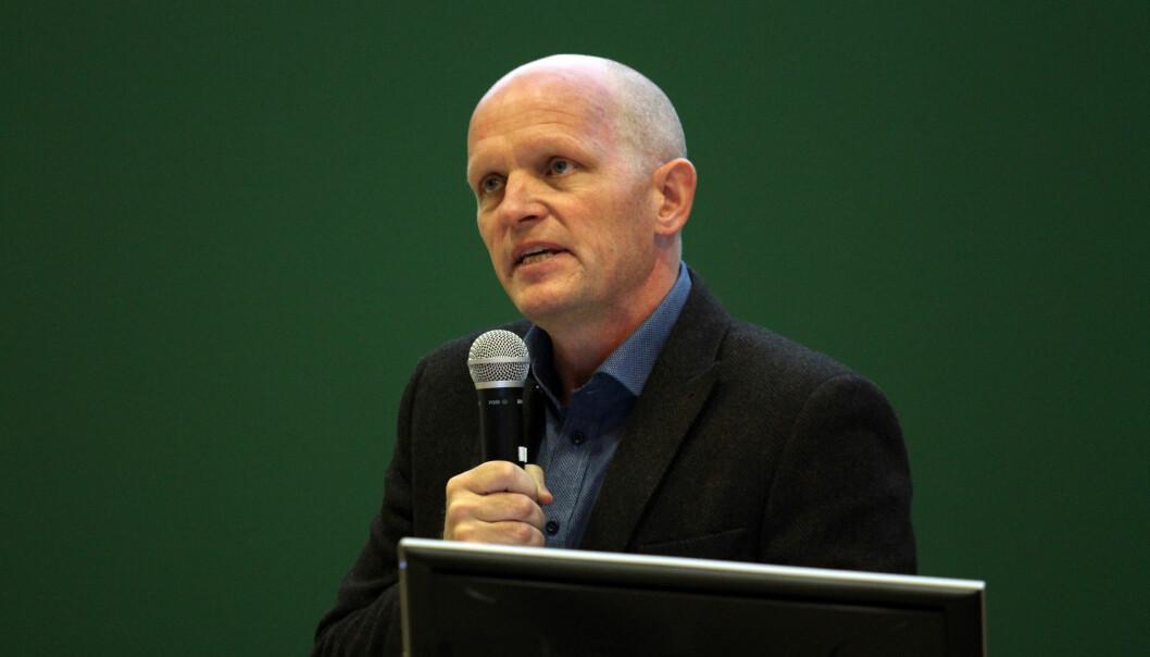 Gunnar Yttri ved Høgskulen på Vestlandet. Foto: Mariann Vatne