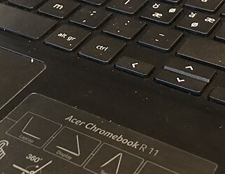 Brann i en Chromebook gjør at alle elever må legge sin igjen på skolen