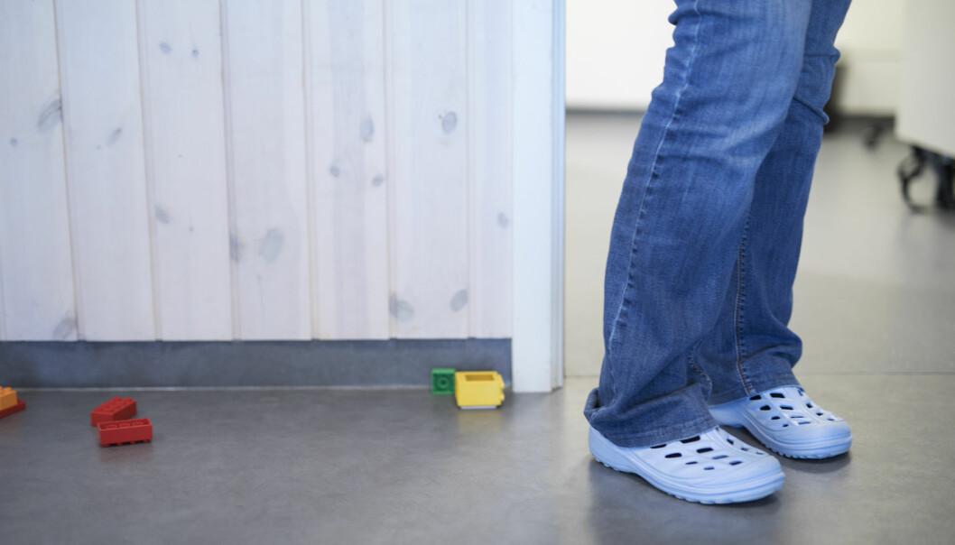 Arbeidstilsynet har funne at i to av ti barnehagar har verneombodet ikkje fått opplæring. (llustrasjonsfoto: Maja Ljungberg Bjåland)