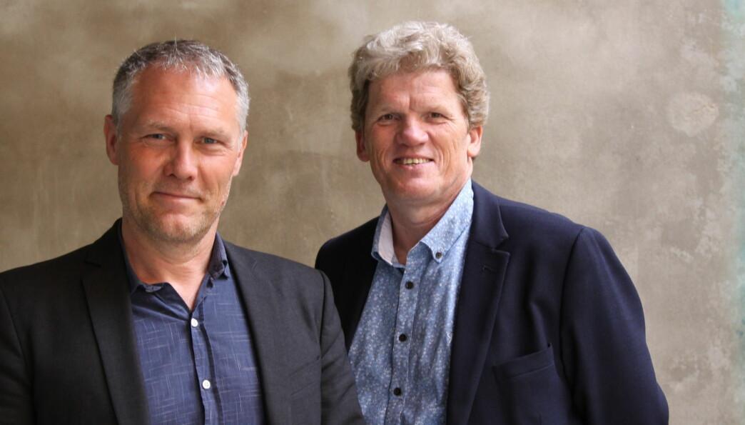 Øystein Gilje og Bjørn Bolstad. Foto: Tore Brøyn