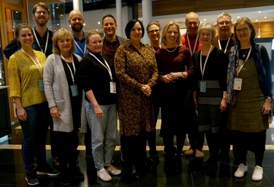 – Etter å ha hørt på detbatten i landsstyresalen i ettermiddag, er jeg stolt av laget mitt på Oslobenken, sier Oslos utdanningsdirektør Marte Gerhardsen. Foto: Marianne Ruud