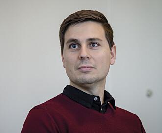 Samfunnsfagslærer Andreas Boer Johannessen. Foto: Joakim S. Enger