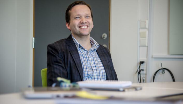Norsklærer Ola Sørengen. Foto: Joakim S. Enger