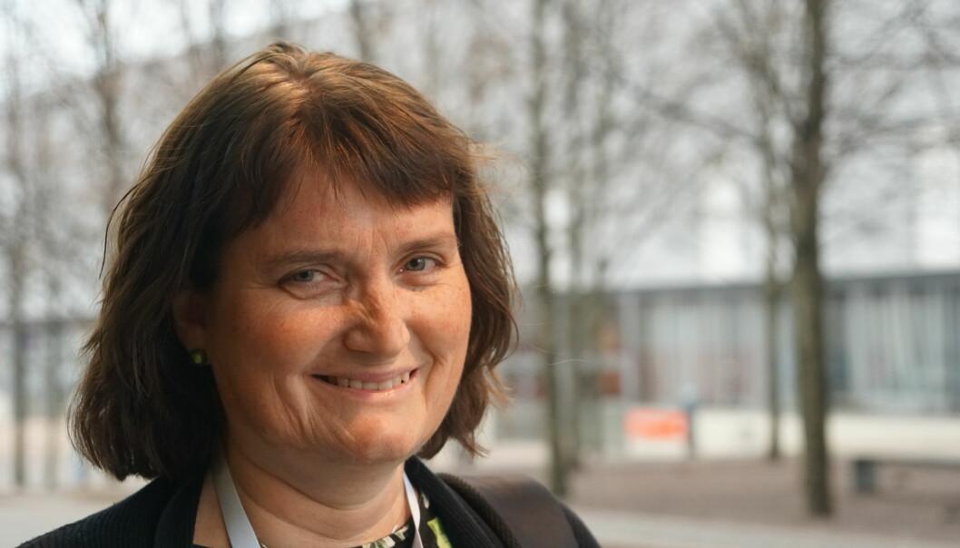 Eline Høiberget fra UDF Innlandet. Foto: Marianne Ruud