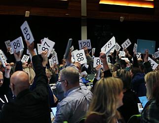 Landsmøtet har spikret Utdanningsforbundets politiske dokument for de neste fire årene