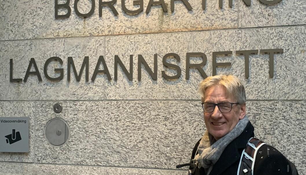 Fire dager i retten er over for Clemens Saers. Foto: Kaja Mejlbo