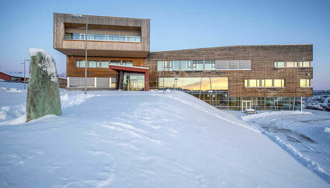 Det prosentvis dårligste oppmøtet er det her, på samisk Høyskole i Kautokeino med 8 prosent. Foto: Alf Ove Hansen