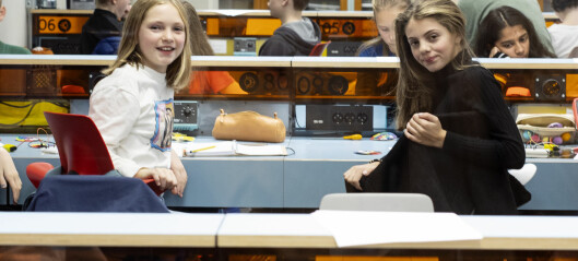 Høyt intelligente jenter oppdages ikke av lærere
