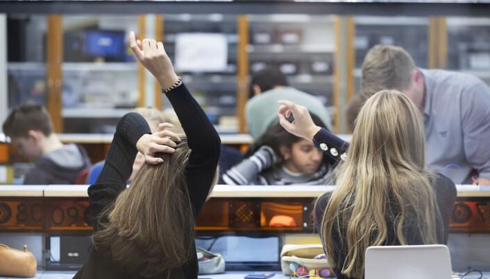 Mange høyt intelligente jenter går under radaren hos lærere. Foto: Maja Ljungberg Bjaaland