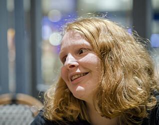 Maja (16) har av og til så mange tanker inne i hodet at det ikke finnes ord for det hun tenker.
