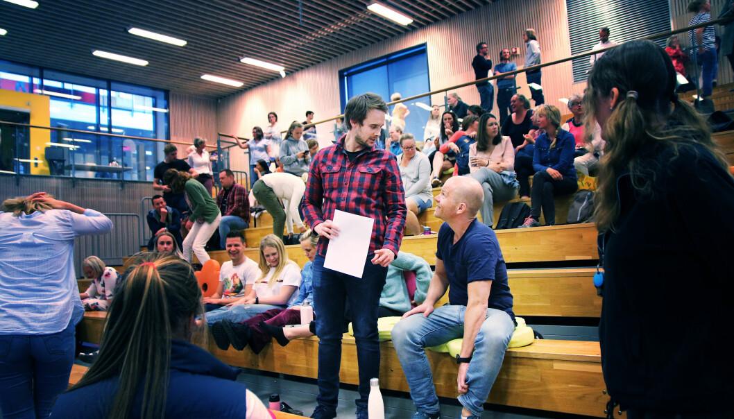 Lærere på Storøya skole, Svein Alnæs og Theodor Borchgrevink.