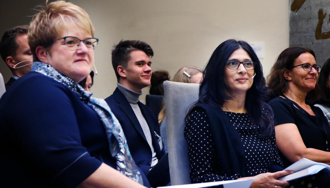 Kulturminister Trine Skei Grande lover å se på alle tiltakene UngIDag-utvalget foreslår.