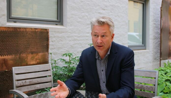 Sentralstyremedlem i UDF, Tormod Korpås. Foto: Utdanningsforbundet