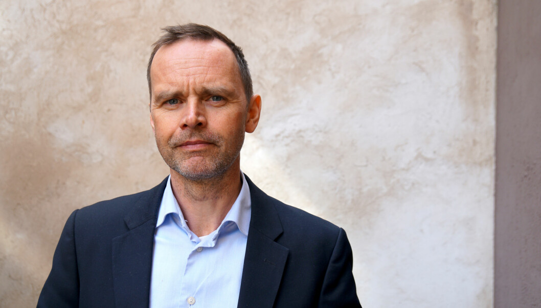 Sentralstyremedlem i Utdanningsforbundet, Thom Jambak. Foto: Marianne Ruud