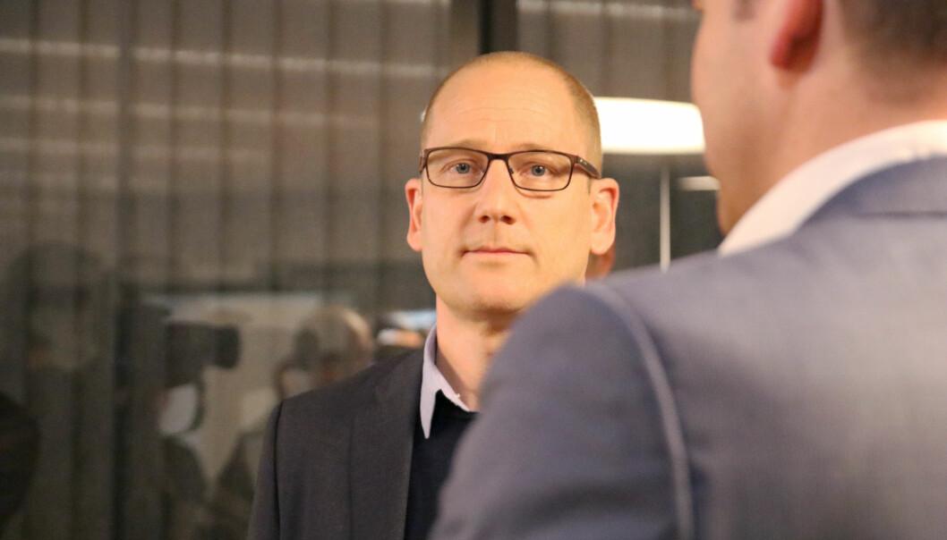 Utdanningsforbundets leder Steffen Handal. Foto: Utdanningsforbundet