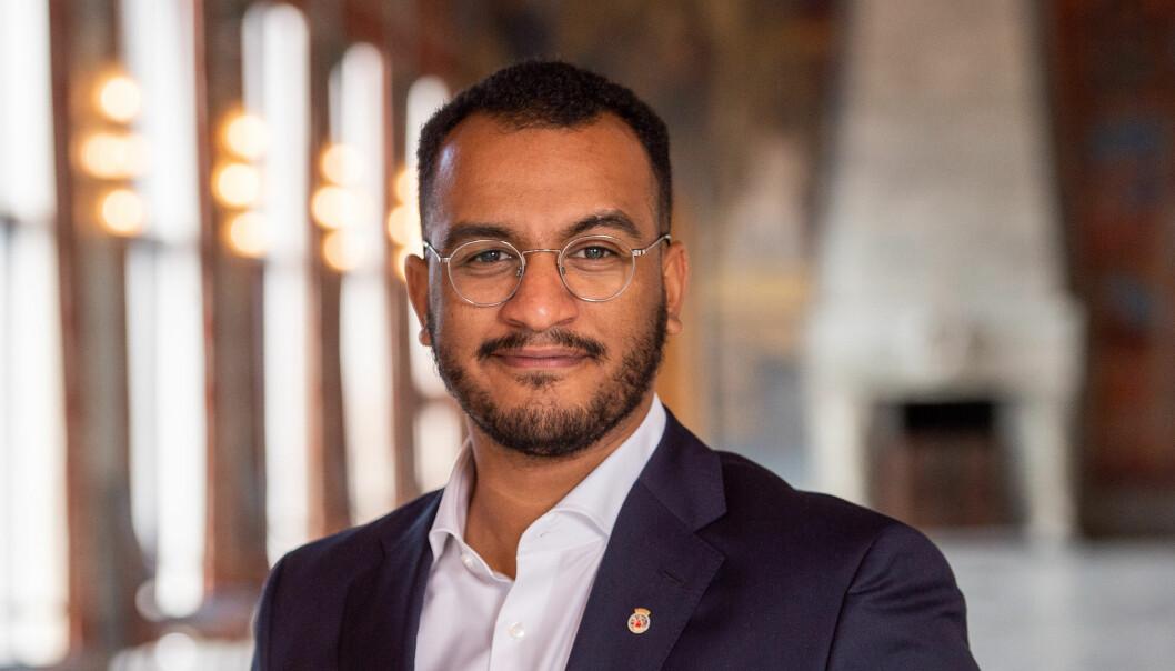 Å bli utnevnt til byråd i Oslo er stort, spennende og ærefullt, sier Omar Samy Gamal.
