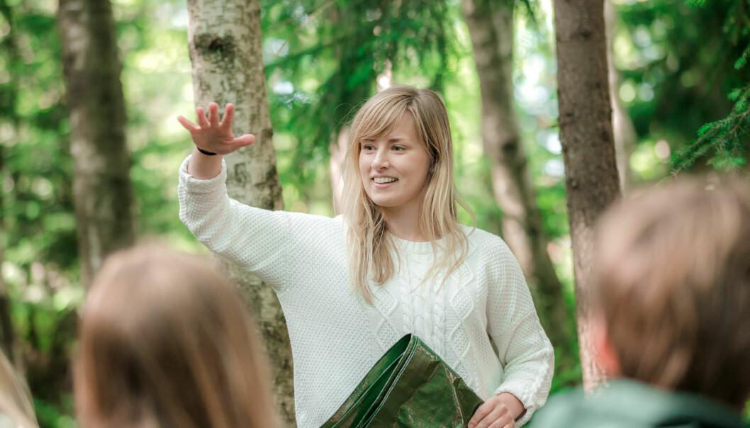 De nye læreplanene åpner for å ta naturen mer i bruk som læringsarena.