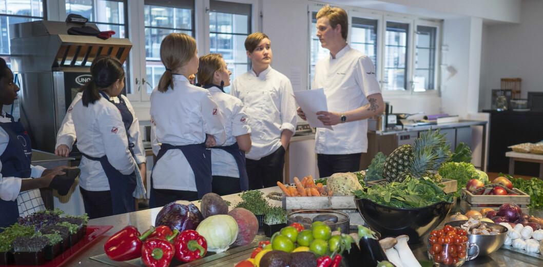 – Fremtidens kokker må kunne lage plantebasert mat