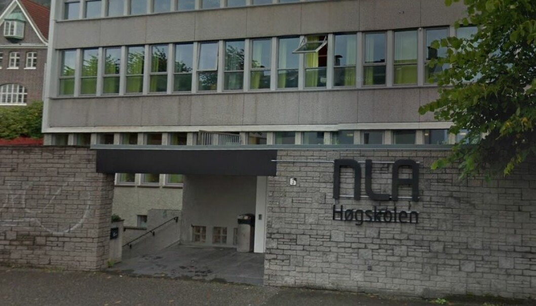 Søkere til NLA Høgskolen er blitt forbigått fordi de er homofile eller støtter homofilt samliv, ifølge forskerforum.no. Bildet er fra skolens avdeling i Bergen.