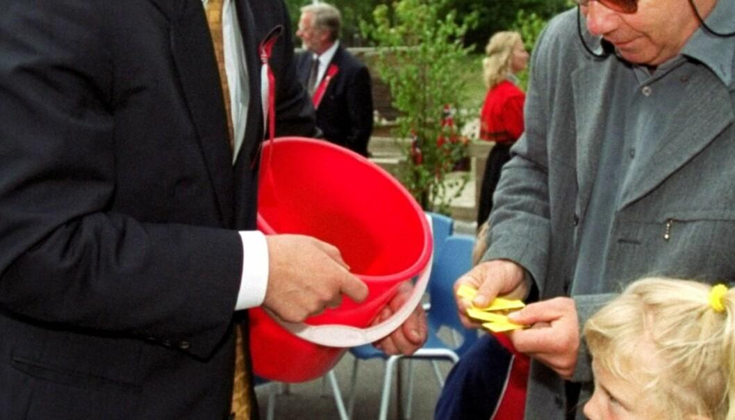 Det er samlet inn store summer på avslutninger, 17. mai og ved innsamlinger - penger som skulle gå til leirskole.