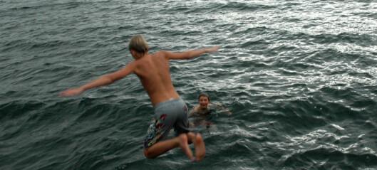 Svømmeopplæring skal også foregå ute!