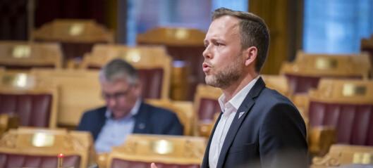 Lysbakken: Oppgitt over regjeringens arroganse
