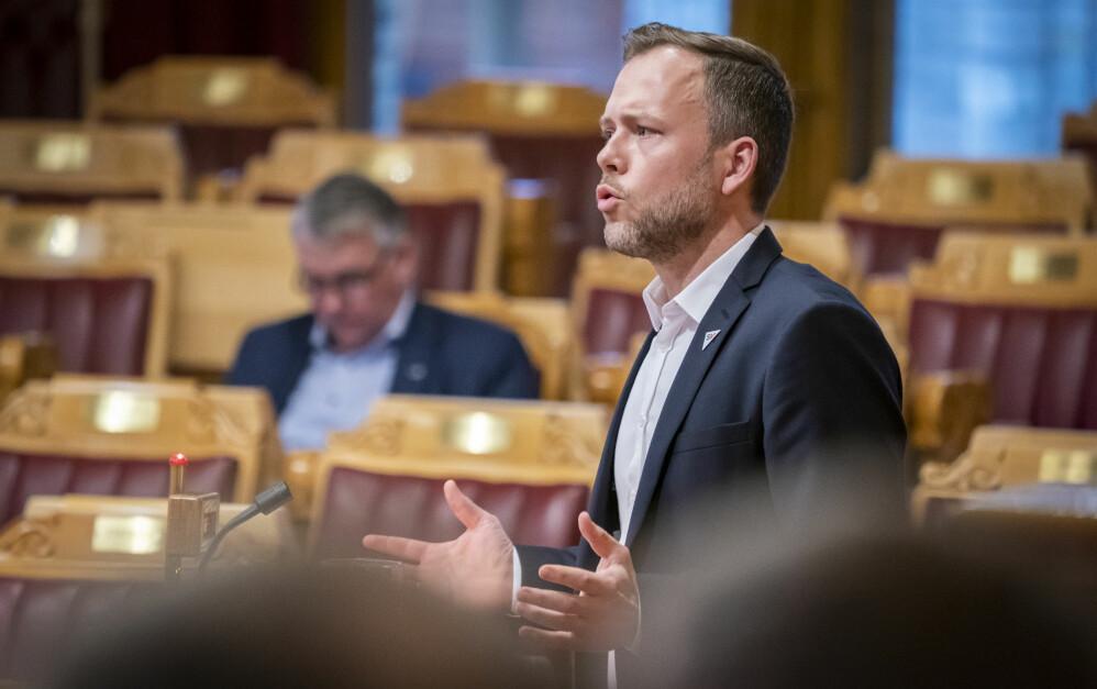 SV-leder Audun Lysbakken.