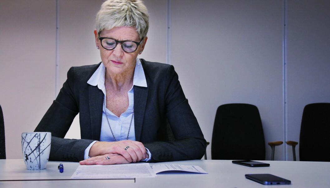 Grethe Hovde Parr. Foto: Jørgen Jelstad.