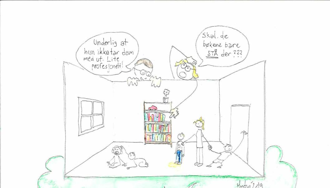 - Jeg blir urolig når forskere tillater seg å komme med bastante påstander om læreres profesjonalitet, sier barnehagelærer Morten Solheim i Utdanningsforbundet.