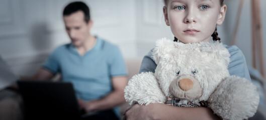 Mia (8):«Det er ikke sånn at åtteåringer må passe på faren sin. Er du klar over hvor redd jeg er?»