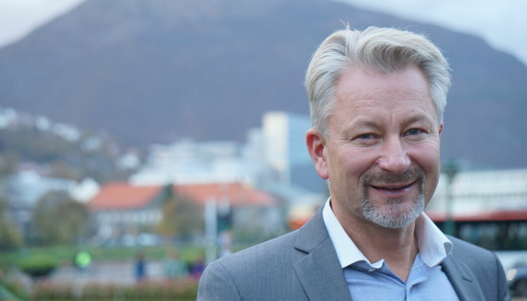 Tormod Korpås, sentralstyremedlem i Utdanningsforbundet.