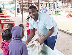 I Sør-Afrika er det klasseskille blant de barnehageansatte