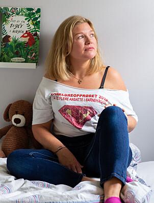 Det hender Caroline Marita Omberg våkner midt på natten med vondt i magen. – Jeg våkner fordi jeg er provosert over at det går an å ha så velskrevne og fine rammeplaner som ingen vil betale for å gjennomføre.