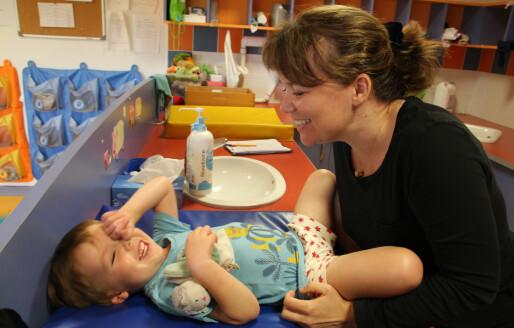 Sykepleierne styrer de største barnehagene