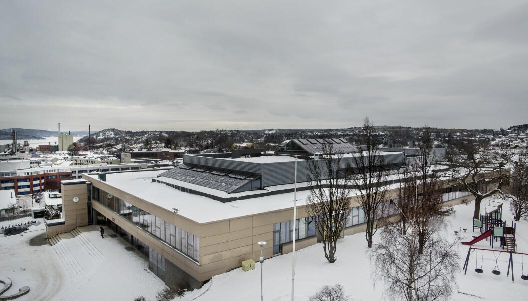 Spesialskolen Bytårnet skole i Moss var blant skolene som ikke var med i statistikken. Foto: Tom-Egil Jensen.