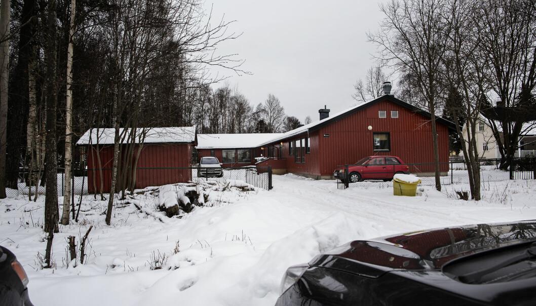 Spesialavdelingen Stasjonsveien i Rygge kommune. Foto: Tom-Egil Jensen.