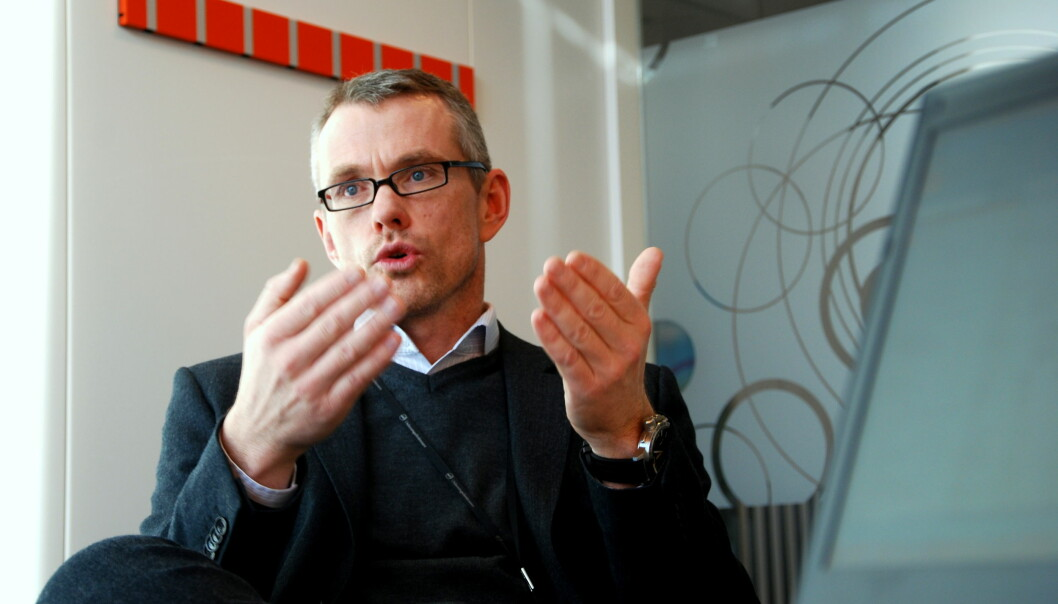 Kjetil Digre i Utdanningsdirektoratet. Foto: Jørgen Jelstad.