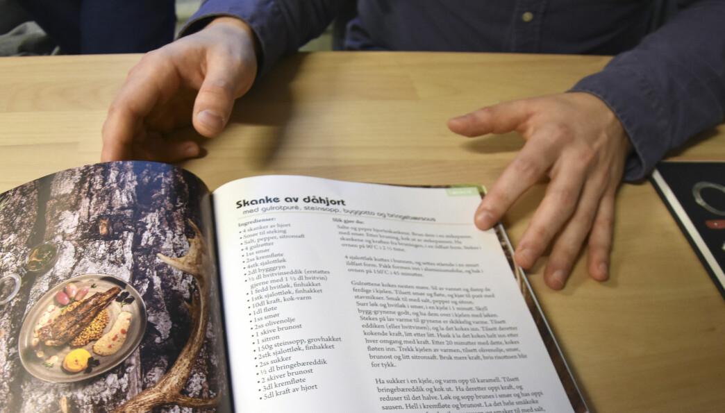 Her er Robins yndlingsoppskrift fra boka, skranke av dåhjort.