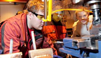 Mangel på industrilærlinger over hele Norge