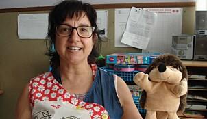 – Vi kan jobbe veldig individuelt i denne lille barnehagen. Vi ser hva hvert enkelt barn har behov for, sier direktør Rosa Fereitas i den portugisiske barnehagen