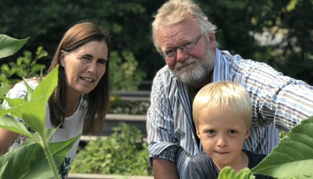 Pedagog Kell Jensen tar med barna, som Victor, ut i naturen så ofte han kan, og lar helsesøster Lillian filme det han gjør