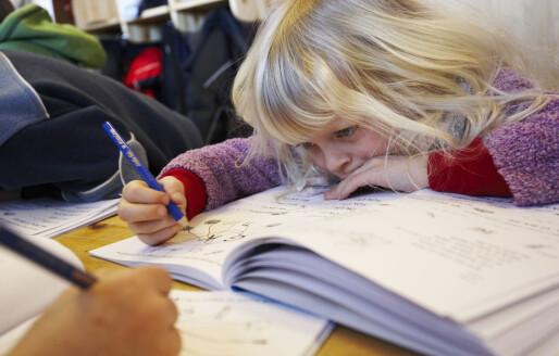 – Førsteklassinger bør lese og skrive mer første halvår
